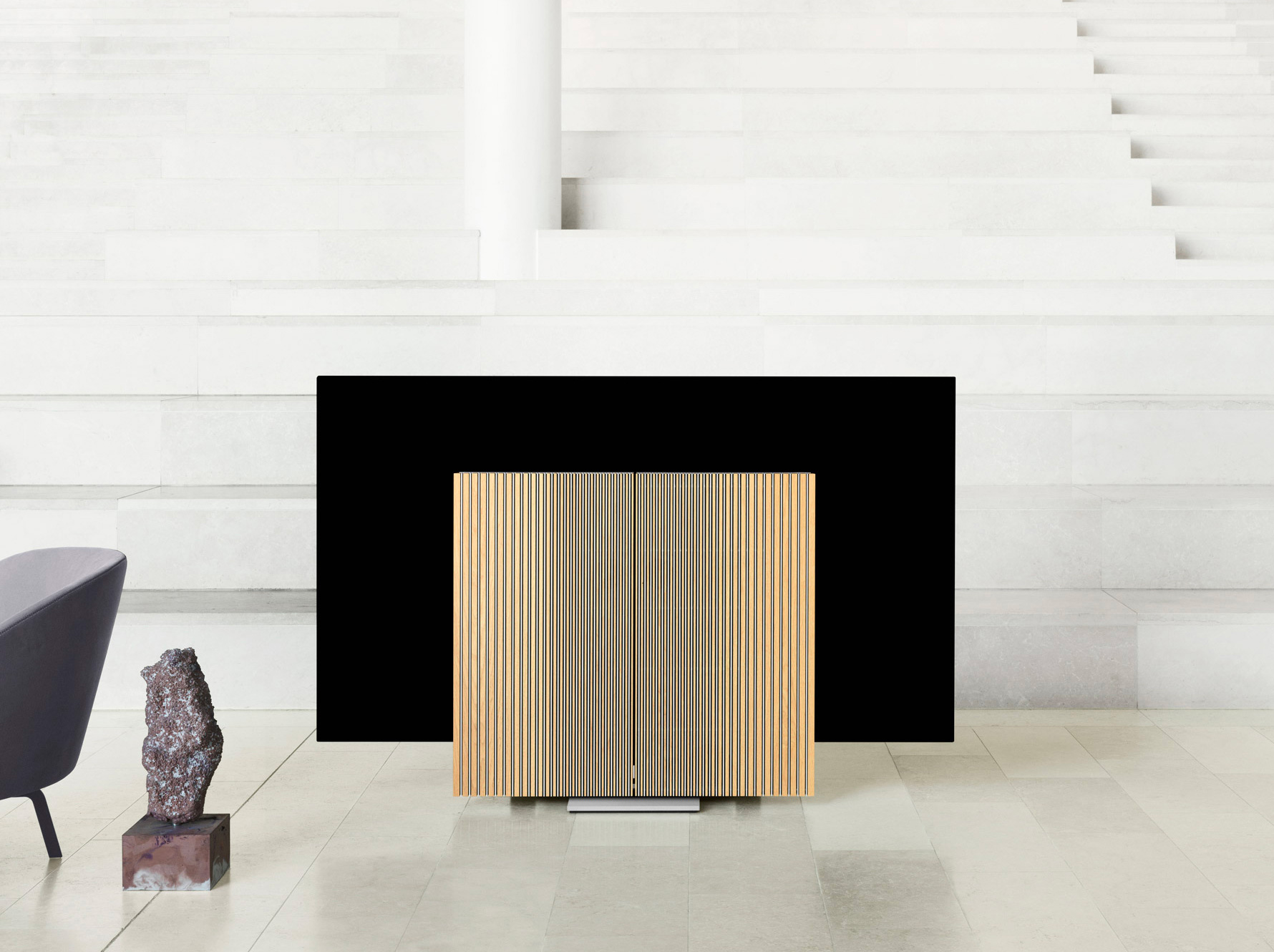 Bang & Olufsen Makes Bold Moves with the Beovision Harmony TV at werd.com