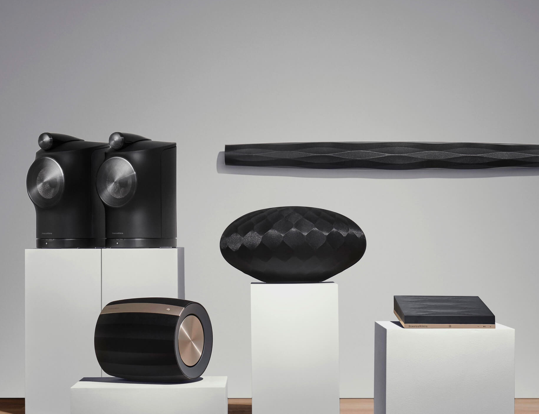 Premium Streaming: Bowers & Wilkins' Formation Speakers at werd.com