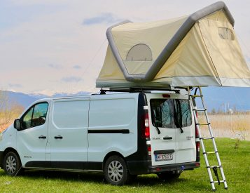 This Inflatable Weighs Less Than Half Of Other Rooftop Tents