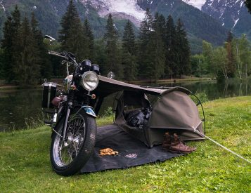 The Goose is Made for Motorcycle Camping