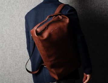 Hardgraft's Belted Backpack Looks Good in Leather