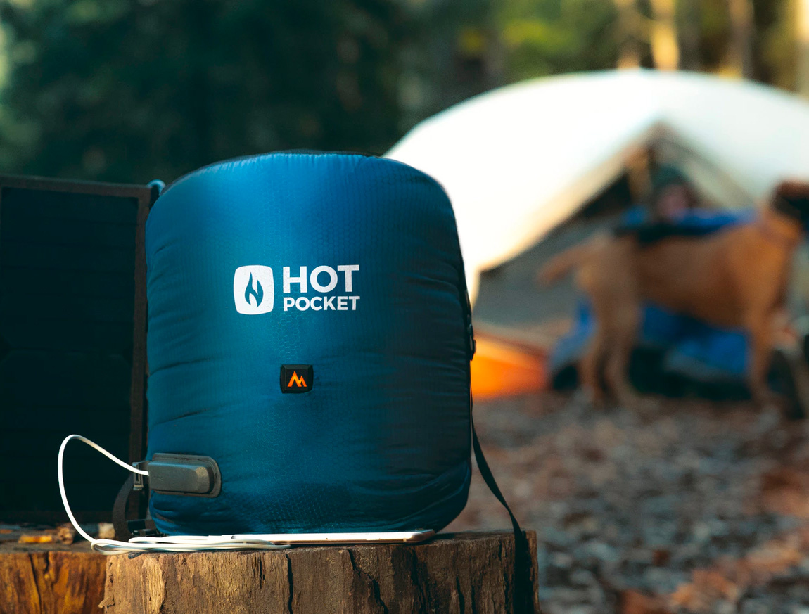 The Hot Pocket Keeps Campers Cozy All Night Long at werd.com