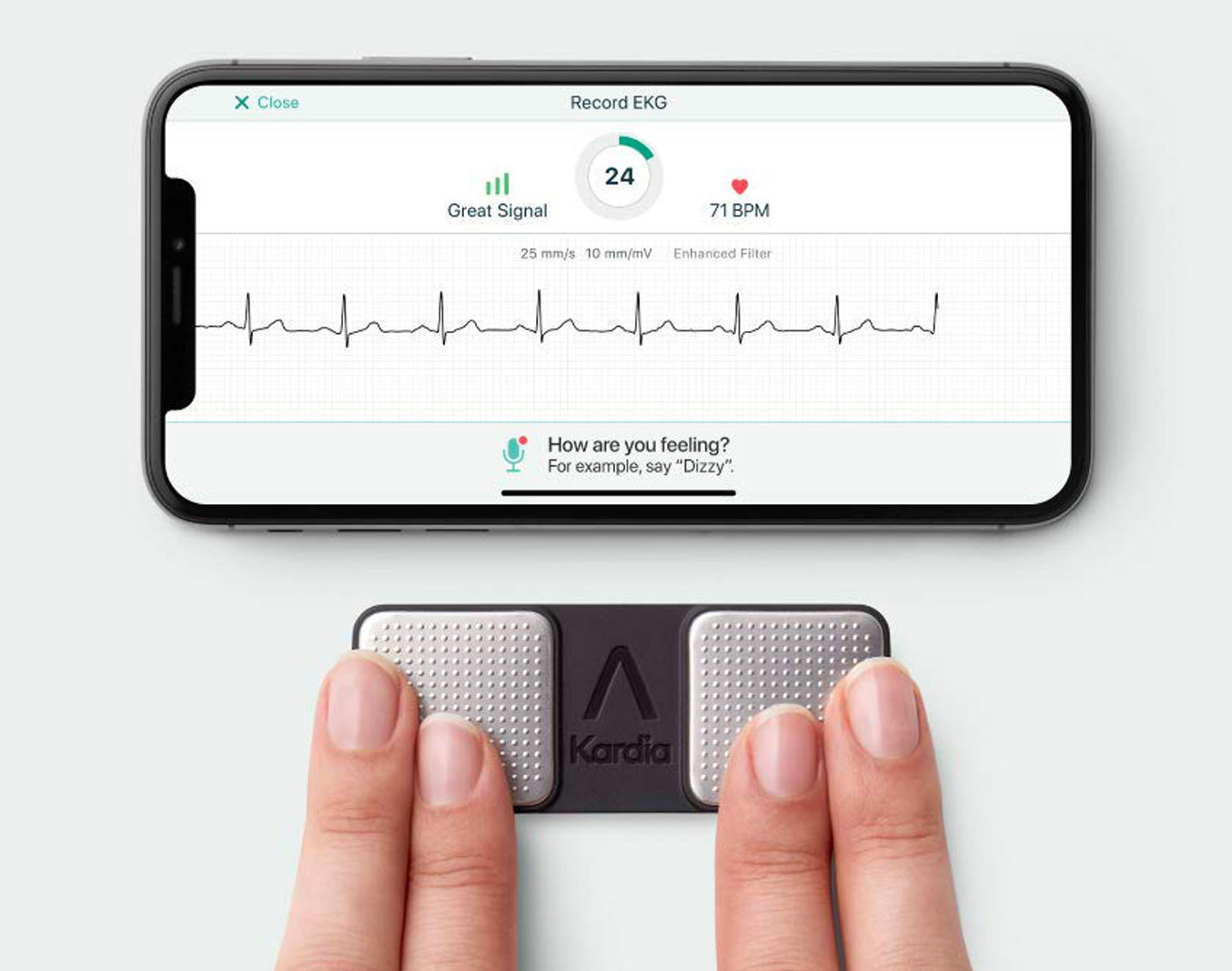 This iPhone EKG is 66% More Powerful than Apple Watch at werd.com