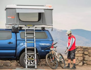 This Rooftop Tent Makes It Easier To Bring Your Toys