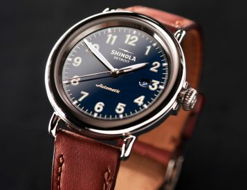 Shinola Revives Flagship Runwell Automatic