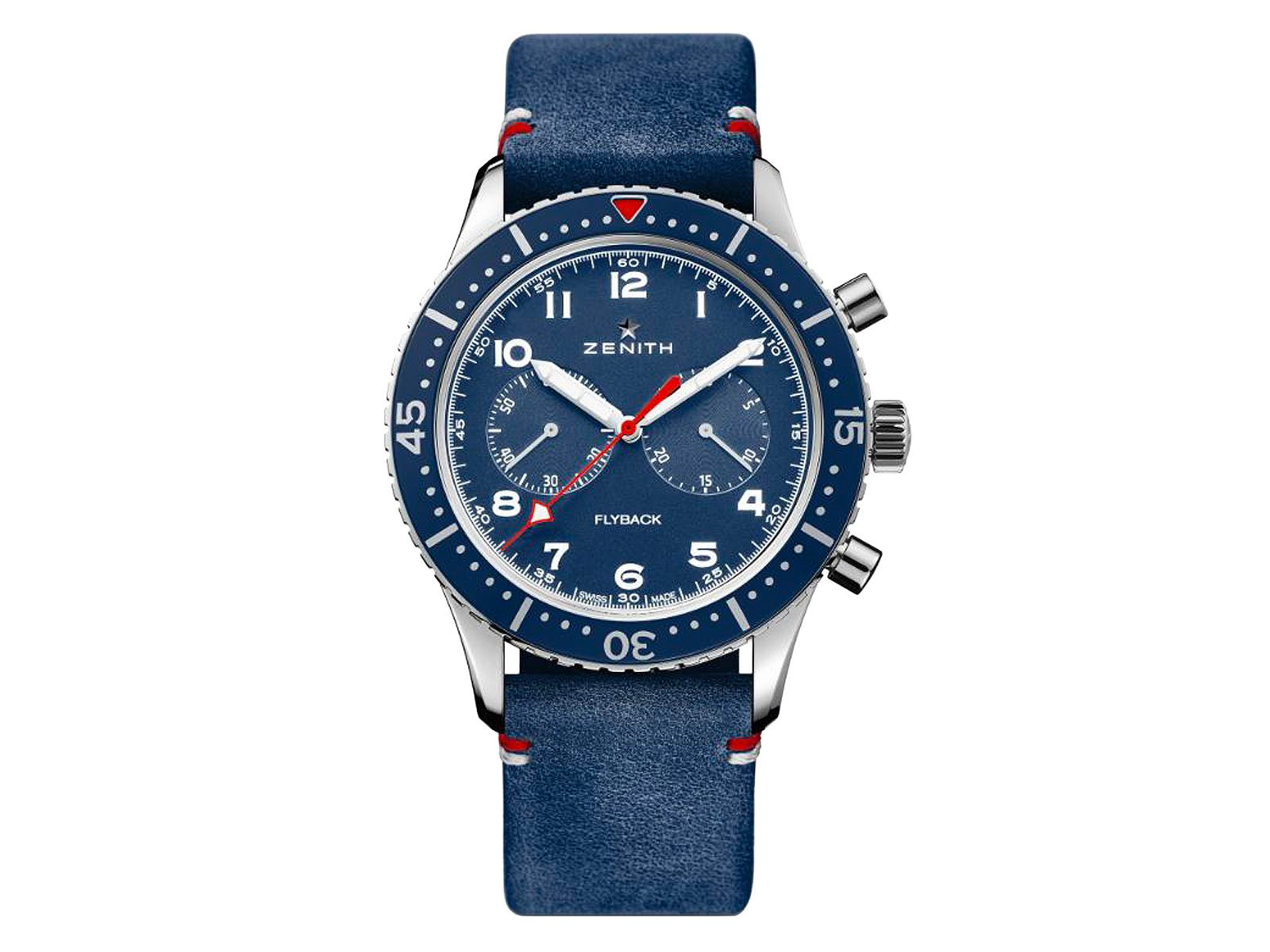Zenith Celebrates American Vets With Pilot Cronometro Tipo CP-2 USA at werd.com