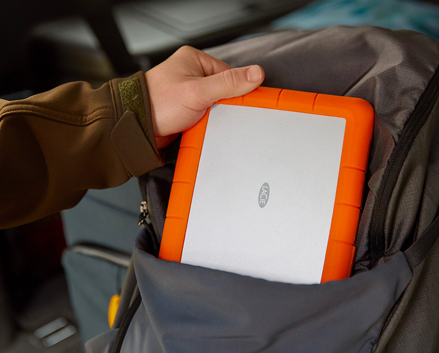 LaCie Introduces Packable, Shippable Rugged RAID Shuttle at werd.com