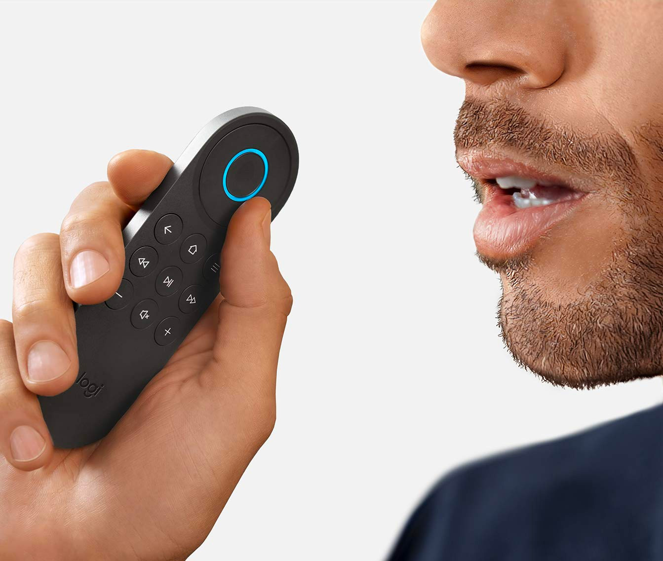 This Universal Remote from Logitech has Amazon Alexa Inside at werd.com