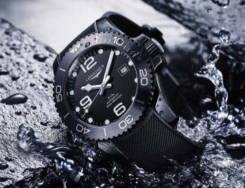 Longines Dives Deep with the HydroConquest Ceramic