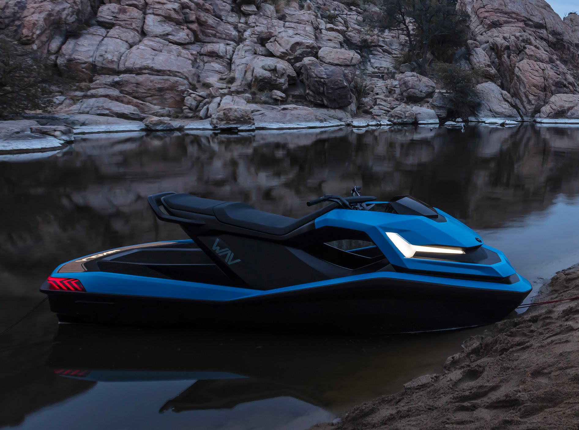 Nikola Motors Drops an All-Electric PWC in the Water at werd.com