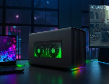 Razer Lights Up Laptop Gaming with Core X Chroma