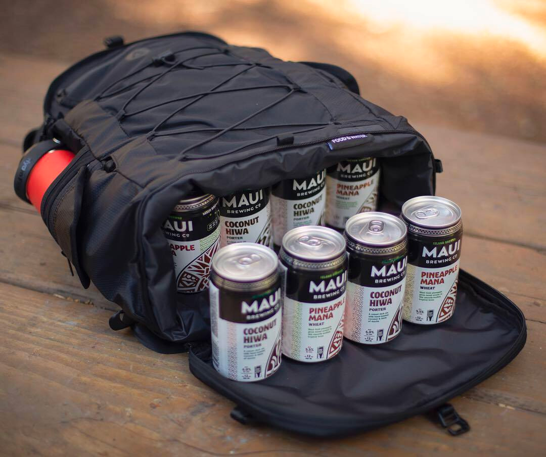 This Pack Keeps Road Sodas Cold: Carries 14 Cans at werd.com