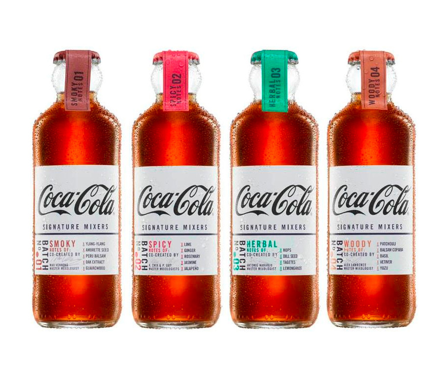Coca-Cola Debuts Adult Drinks: Signature Mixers at werd.com