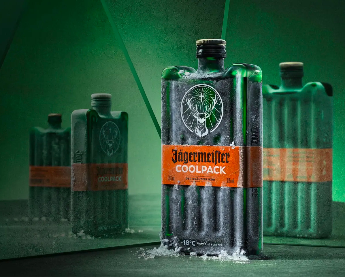 This New Jägermeister Bottle is Pretty Cool at werd.com