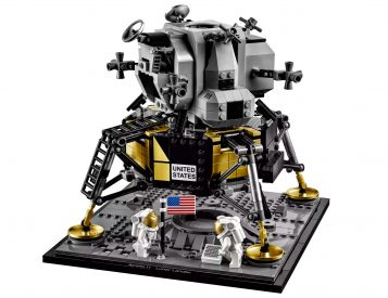 Lego & NASA Team Up On Apollo 11 Lunar Lander Set