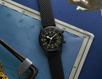 Longines Blacks Out Their Classic Dive Watch