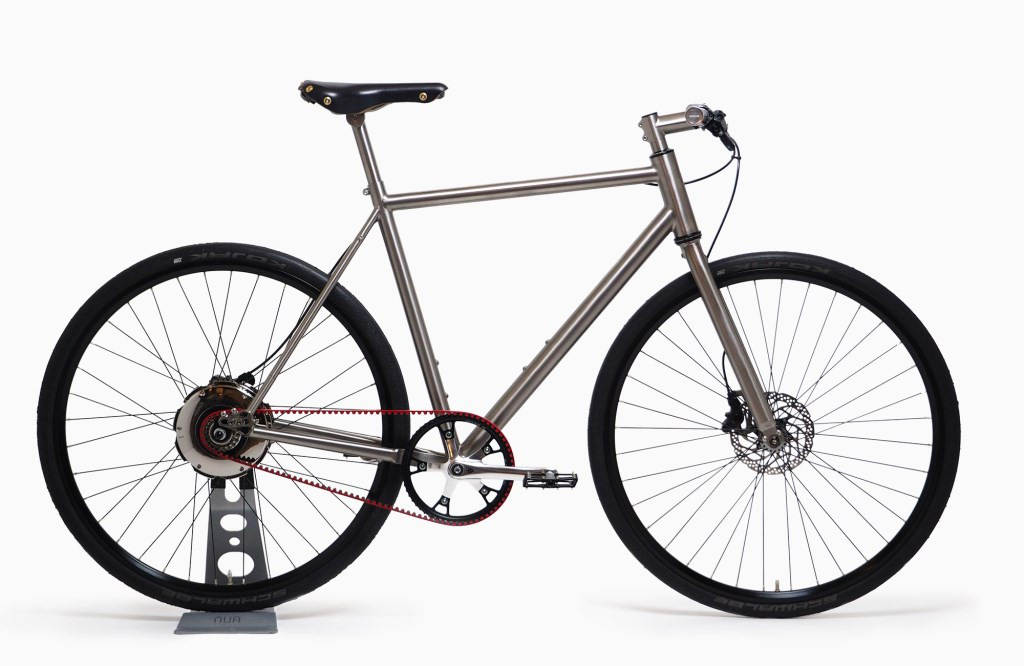 Nua Electrica E-Bike Looks Normal and Doesn't Need Manual Charging at werd.com