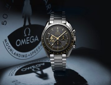 Omega Celebrates Apollo 11 with Limited Speedmaster Moonwatch