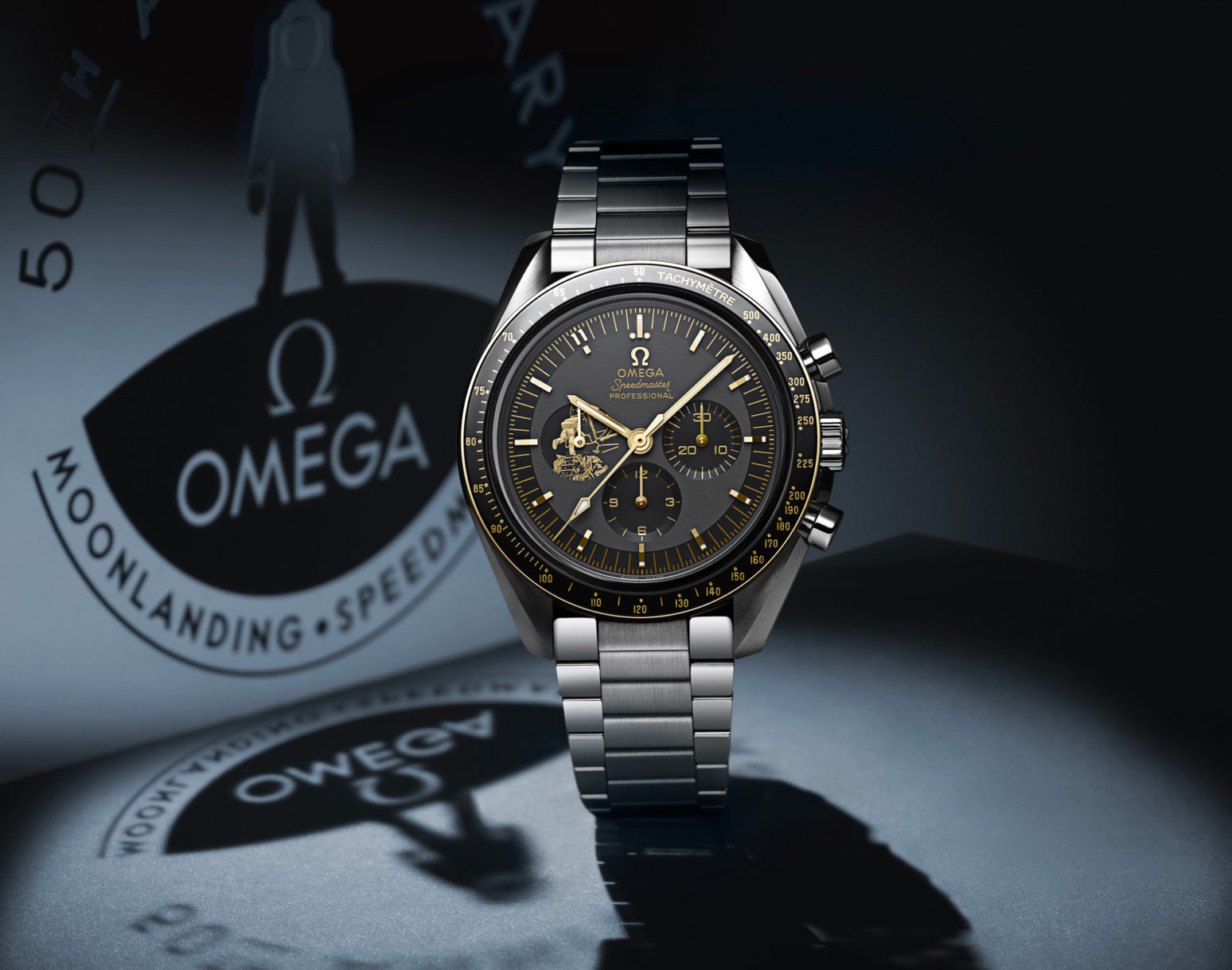 Omega Celebrates Apollo 11 with Limited Speedmaster Moonwatch at werd.com