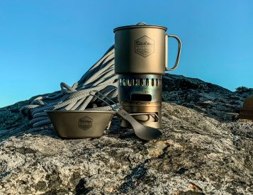 PDW's Titanium Camp Cookware Weighs Next To Nothing
