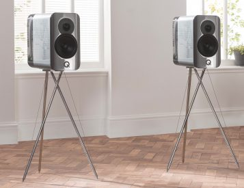Q Acoustics Concept 300 Speakers Deliver Crystal Clear Sound