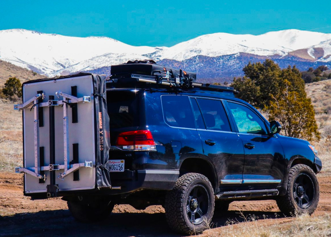 Hitch Tent Gets Your Rooftop Tent Out of the Way at werd.com