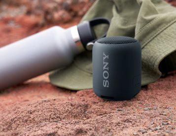 Portable Bass That Bumps: Sony's Palm-Size SRS-XB12 Speaker