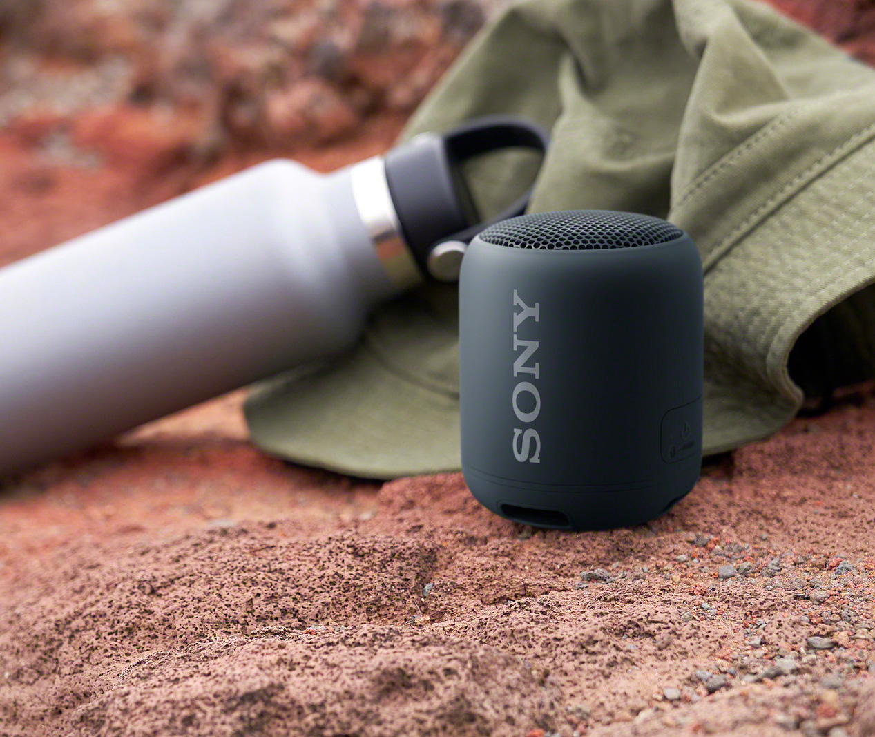 Portable Bass That Bumps: Sony's Palm-Size SRS-XB12 Speaker at werd.com