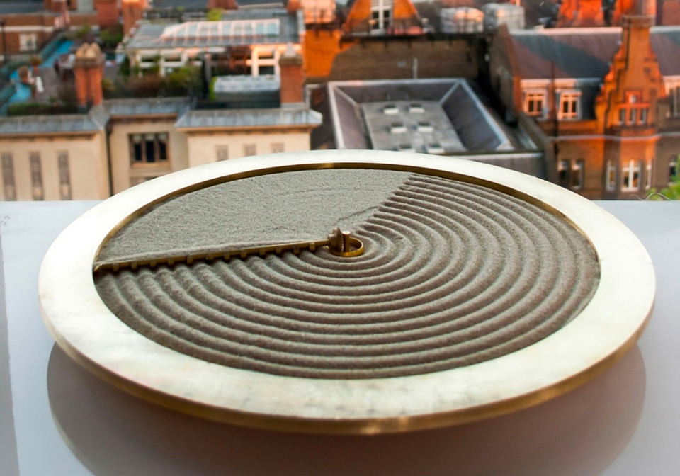 Bring Zen Vibes To Your Space with a Sand Clock at werd.com