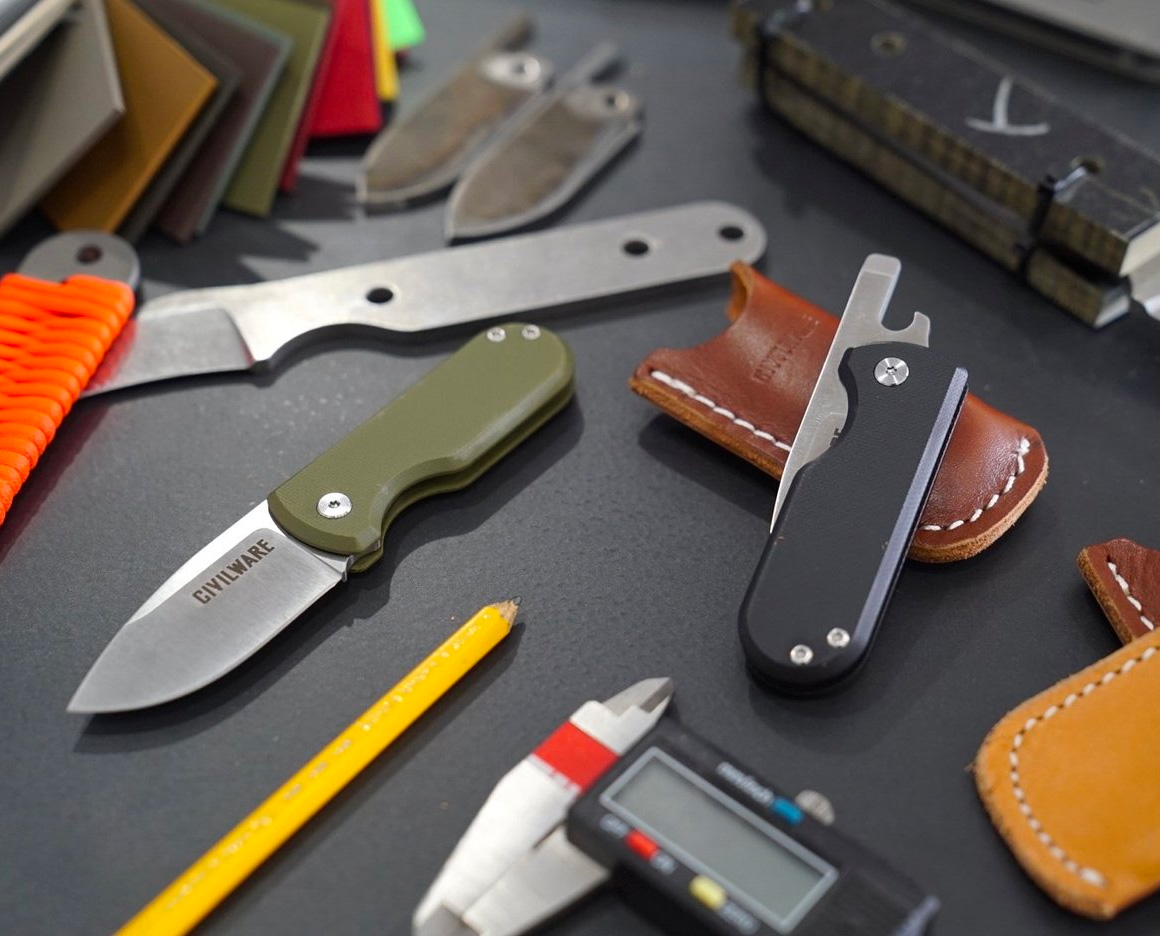 This EDC Pocketknife Cuts, Screws, & Pops Tops at werd.com