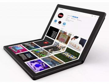 Lenovo's ThinkPad X1 is the World's First Foldable, All-Screen Laptop