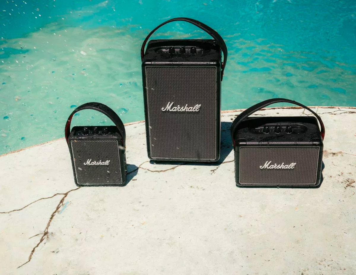 Marshall Introduces Two New Portable Speakers at werd.com