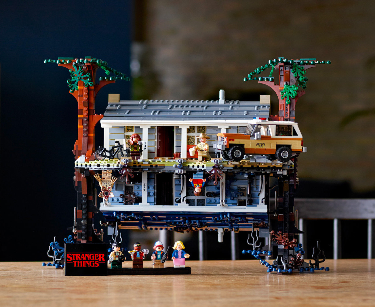 Build Your Own Upside Down With Legos' <i>Stranger Things</i> Set at werd.com