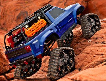 Traxx Treads Turn Your TRX-4 into a Tank