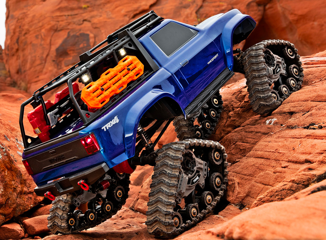 Traxx Treads Turn Your TRX-4 into a Tank at werd.com