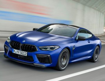 BMW's 2020 M8 is a Powerful Coupe