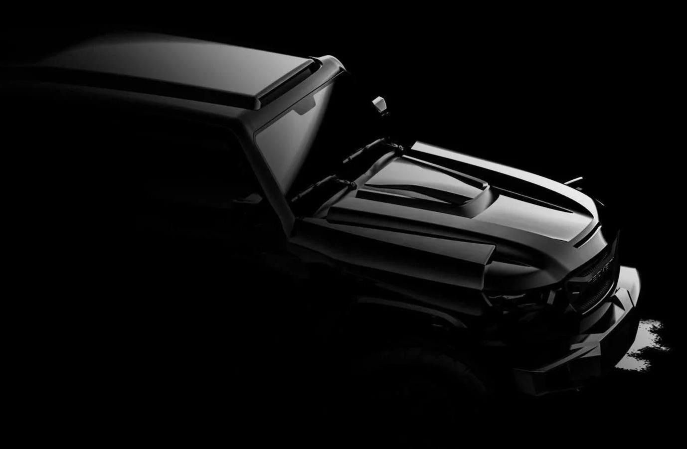 Revzani Unveils 1,000 Horsepower 2020 Tank SUV at werd.com