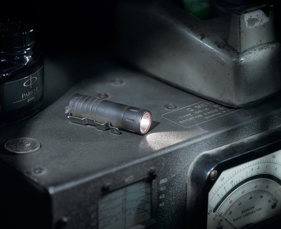 This Tiny Pocket Torch Blasts a Bright Lumicron Light at werd.com
