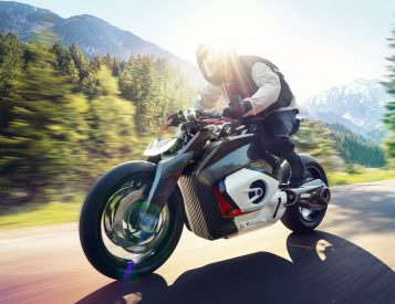 BMW Motorrad Unveils Electric Vision DC Roadster