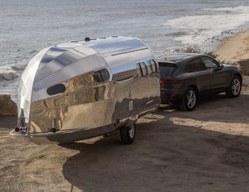 Bowlus Rolls Out the Ultimate Chrome-Dipped Glamping Trailer