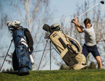 Jones' Lightweight Utility Trouper is the New Golf Bag Dad Deserves