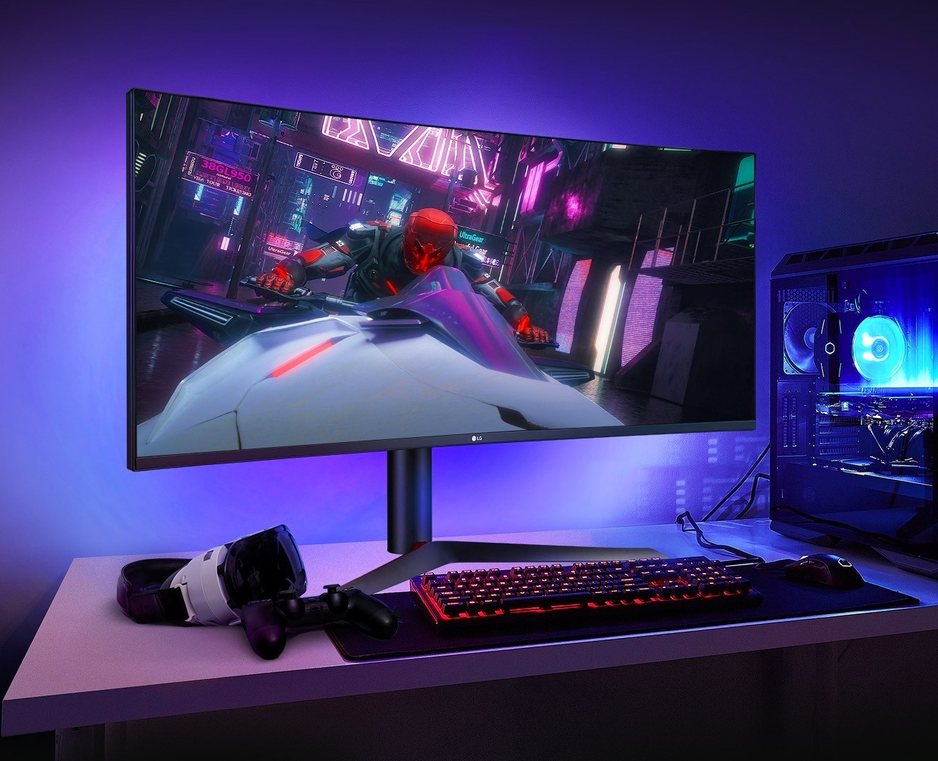 LG Introduces Crazy-Fast UltraGear 1ms Gaming Monitor at werd.com