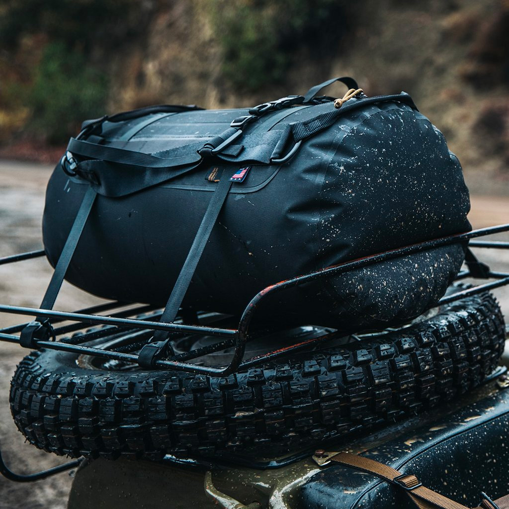 The American Made Project TOAD Duffel is 100% Waterproof at werd.com
