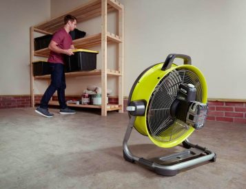 Ryobi Made a Bigger, Better Cordless Jobsite Fan