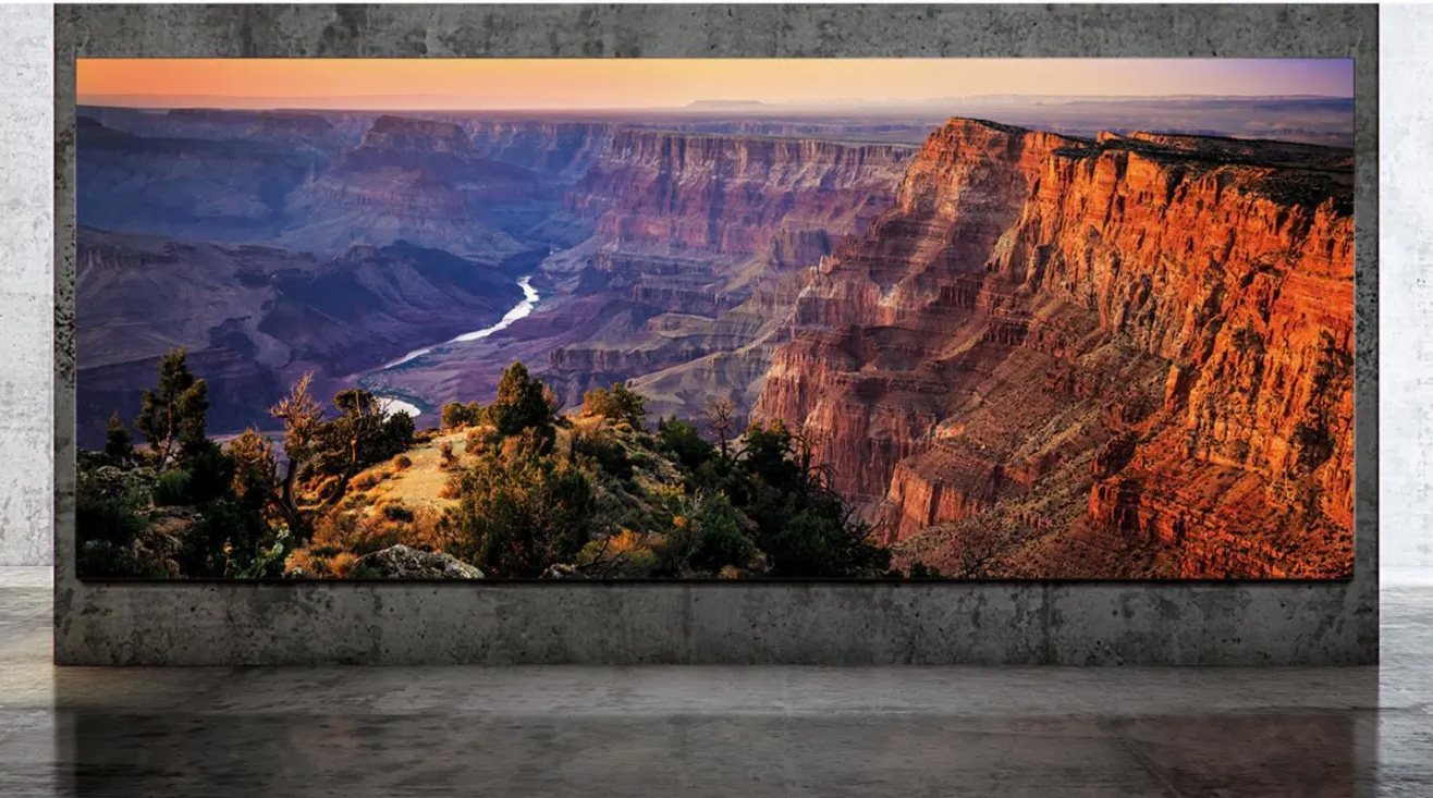 Samsung Unveils The Wall Luxury: A 292-Inch 8K TV at werd.com