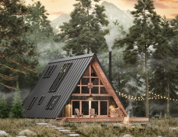 With AYFRAYM You Can Build Your Dream Getaway Cabin