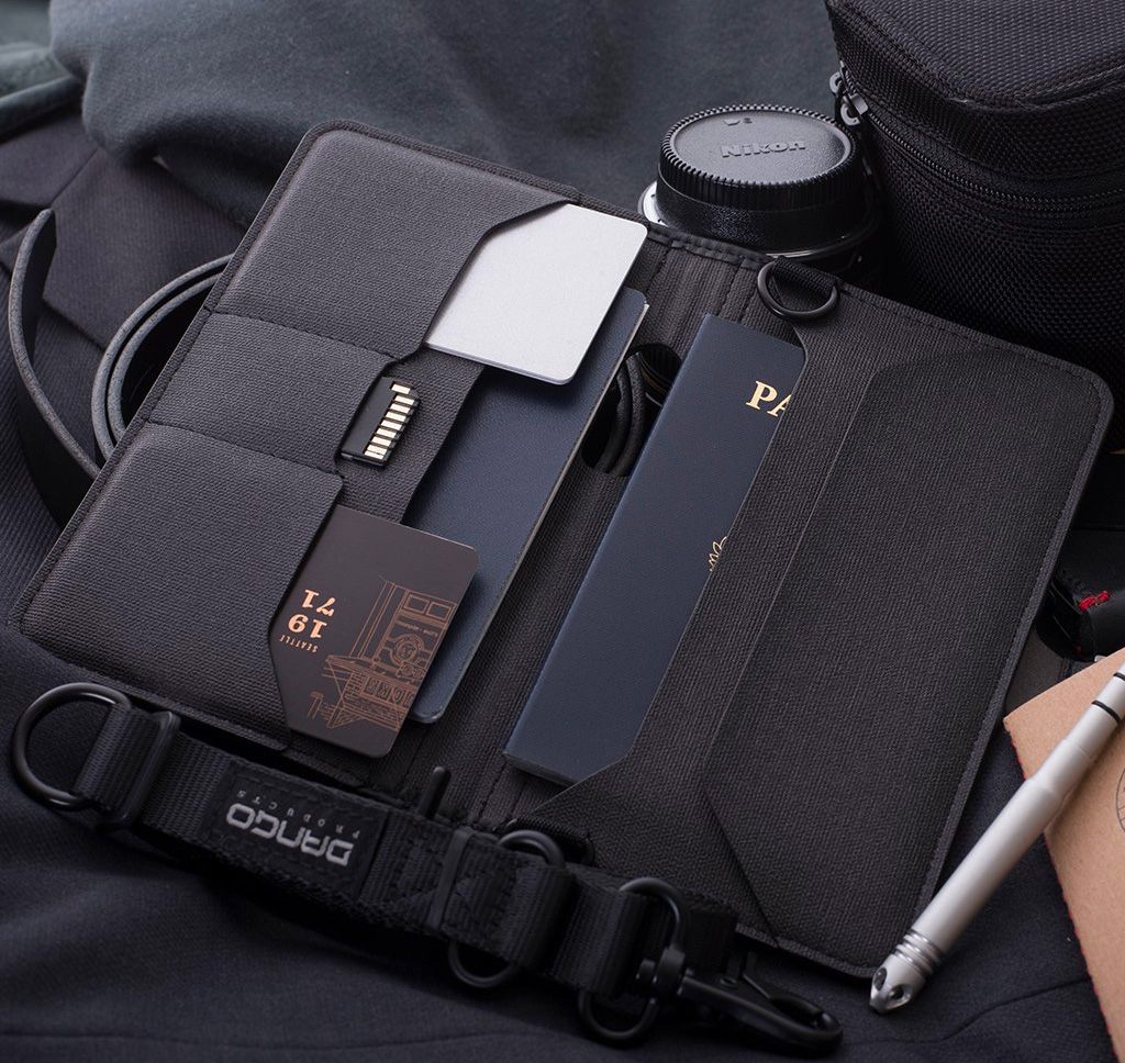 This Handsome Travel Wallet Keeps You Organized On the Move at werd.com