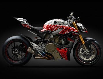 Ducati Transformed Its Iconic Paningale V4 into a Streetfighter