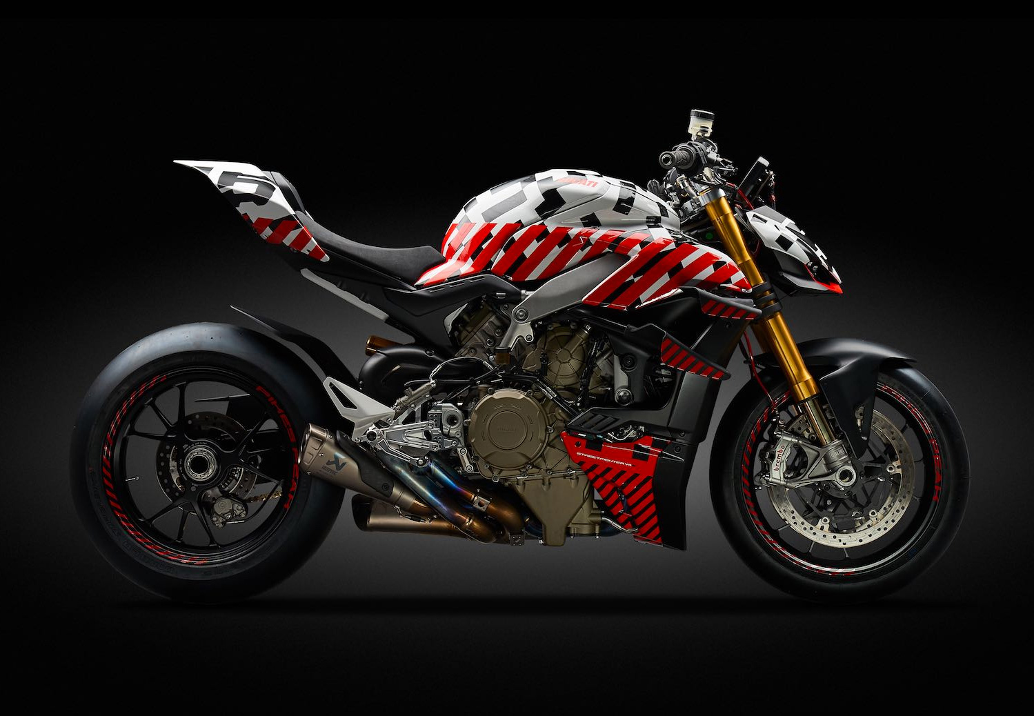 Ducati Transformed Its Iconic Paningale V4 into a Streetfighter at werd.com