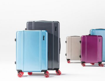 Floyd is 70s Skate-Inspired Rolling Luggage
